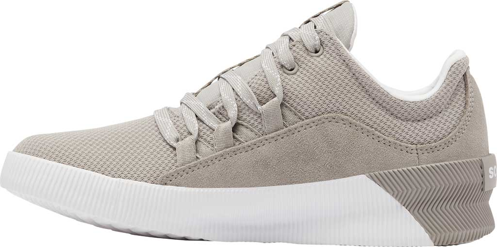 Women's Sorel Out N About Plus Lace Sneaker, Dove Waterproof Mesh/Suede, large, image 3