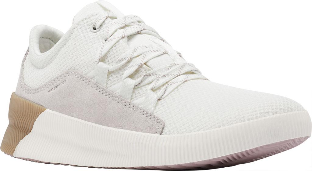 Women's Sorel Out N About Plus Lace Sneaker, Sea Salt Waterproof Mesh/Suede, large, image 1