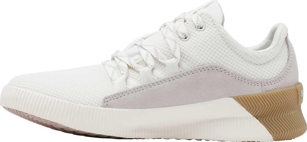 Women's Sorel Out N About Plus Lace Sneaker, Sea Salt Waterproof Mesh/Suede, large, image 3