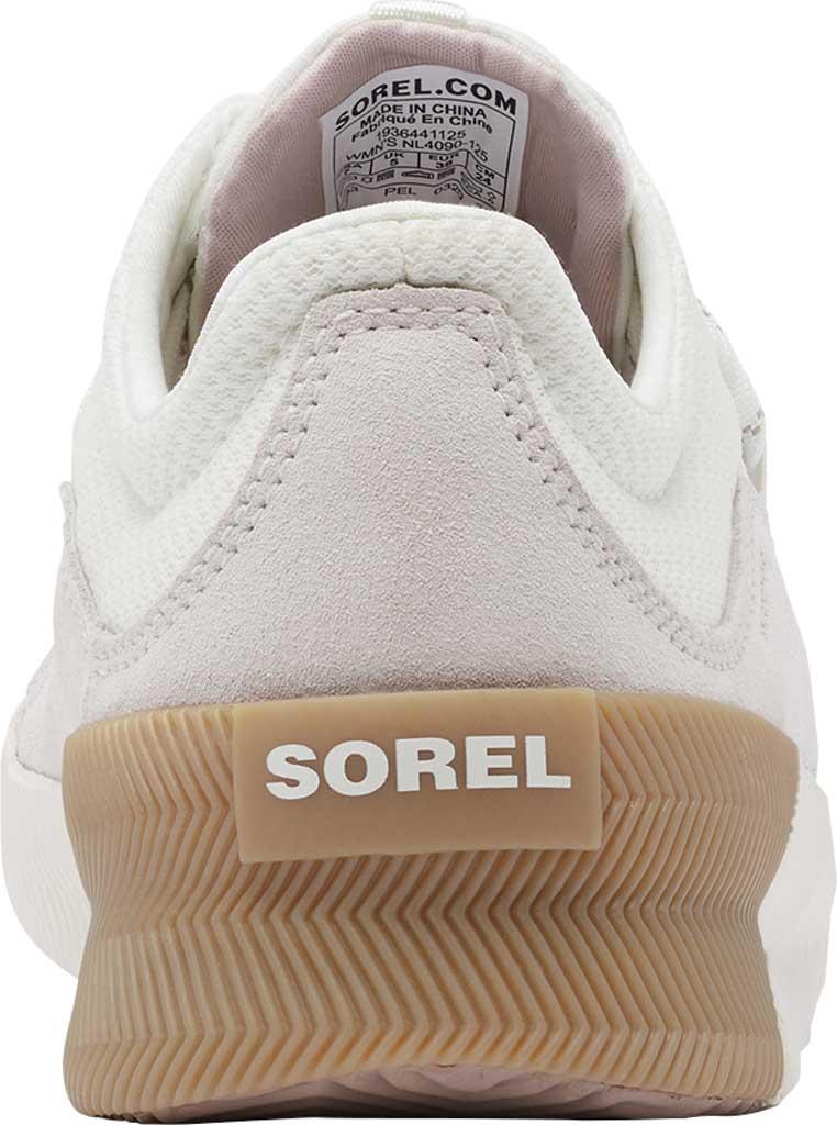 Women's Sorel Out N About Plus Lace Sneaker, Sea Salt Waterproof Mesh/Suede, large, image 4