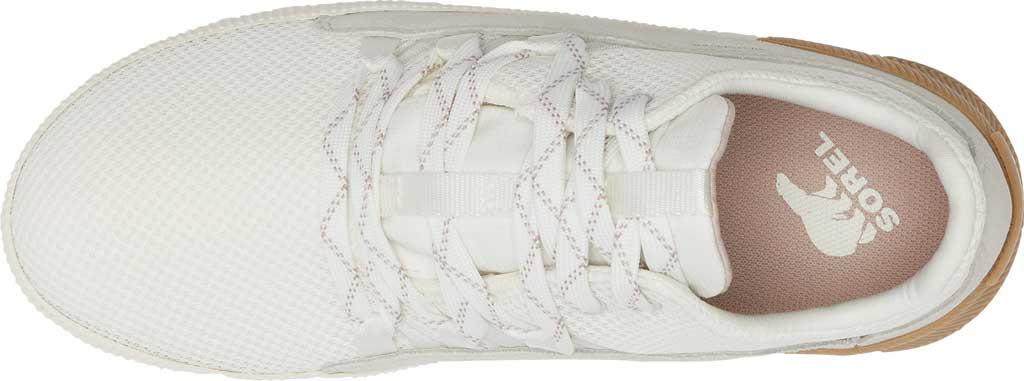 Women's Sorel Out N About Plus Lace Sneaker, Sea Salt Waterproof Mesh/Suede, large, image 5
