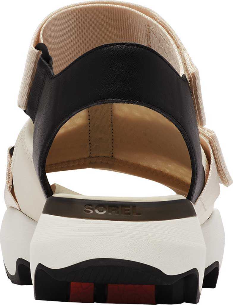 Women's Sorel Kinetic Impact Walking Sandal, Fawn Full Grain Leather/Air Mesh, large, image 4