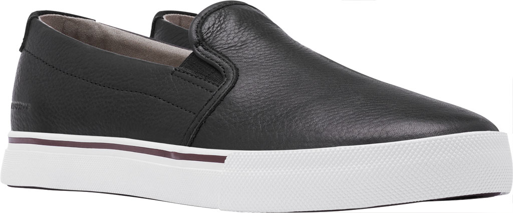 Men's Sorel Caribou Waterproof Slip On Sneaker, Black/Fungi Waterproof Full Grain Leather, large, image 1