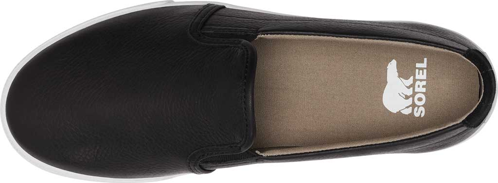 Men's Sorel Caribou Waterproof Slip On Sneaker, Black/Fungi Waterproof Full Grain Leather, large, image 5