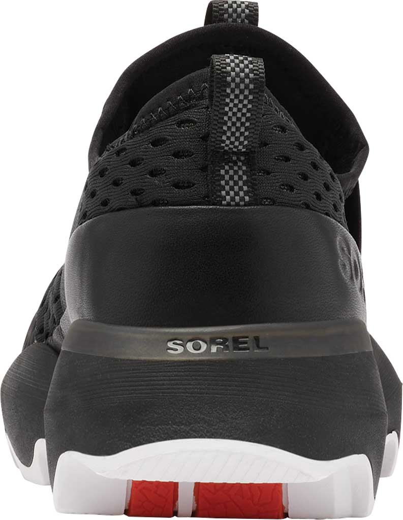 Women's Sorel Kinetic Impact Strap Slip On Sneaker, Black Air Mesh, large, image 4