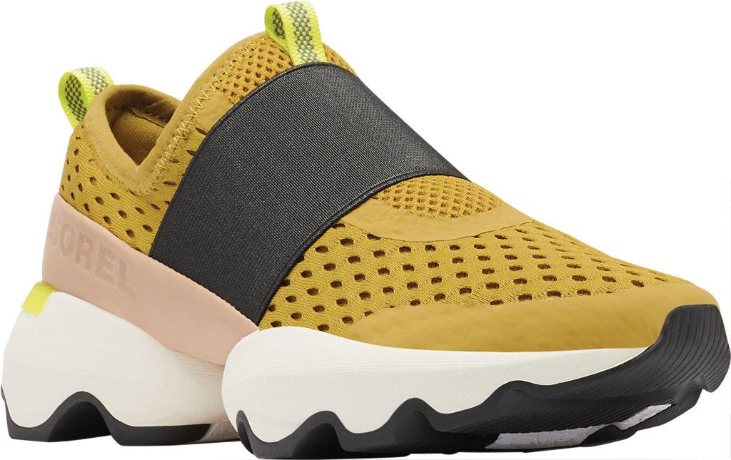 Women's Sorel Kinetic Impact Strap Slip On Sneaker, Dioxide Gold Air Mesh, large, image 1