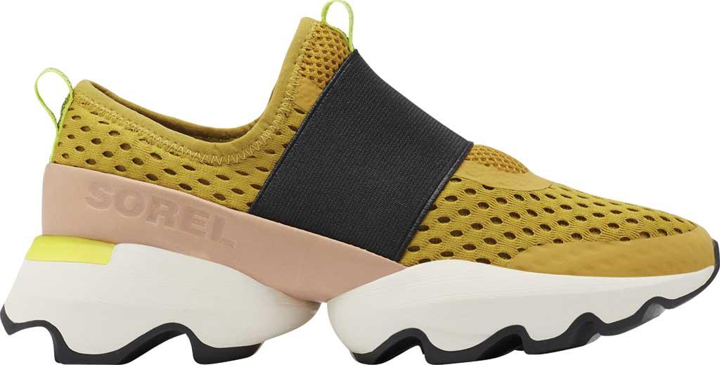 Women's Sorel Kinetic Impact Strap Slip On Sneaker, Dioxide Gold Air Mesh, large, image 2