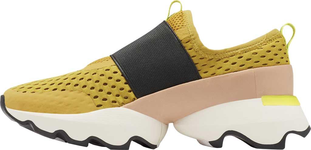 Women's Sorel Kinetic Impact Strap Slip On Sneaker, Dioxide Gold Air Mesh, large, image 3