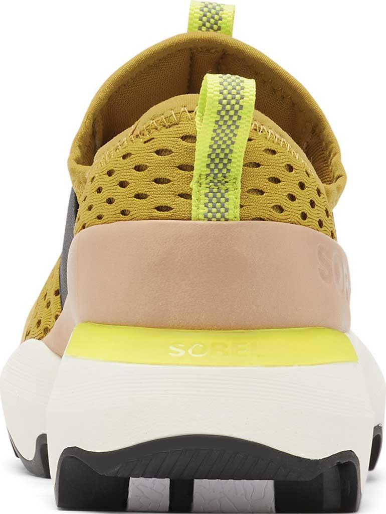 Women's Sorel Kinetic Impact Strap Slip On Sneaker, Dioxide Gold Air Mesh, large, image 4