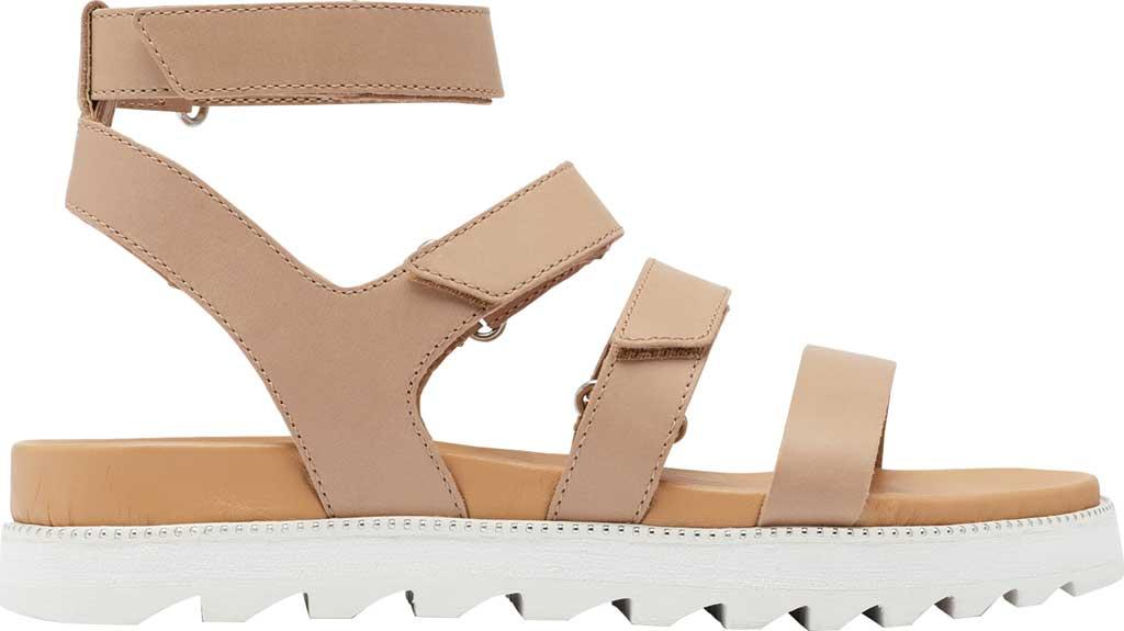 Women's Sorel Roaming Gladiator Sandal, Honest Beige Full Grain Leather, large, image 2