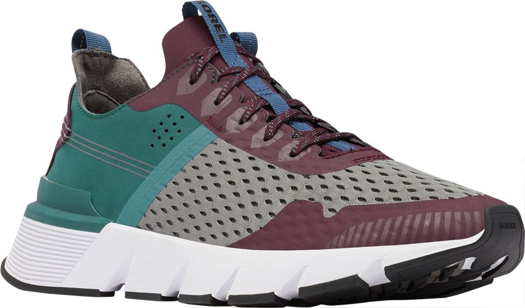 Men's Sorel Kinetic Rush Sneaker, Epic Plum/Quarry Synthetic Nubuck/Mesh, large, image 1