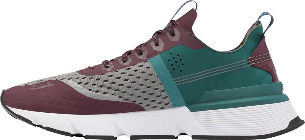 Men's Sorel Kinetic Rush Sneaker, Epic Plum/Quarry Synthetic Nubuck/Mesh, large, image 3