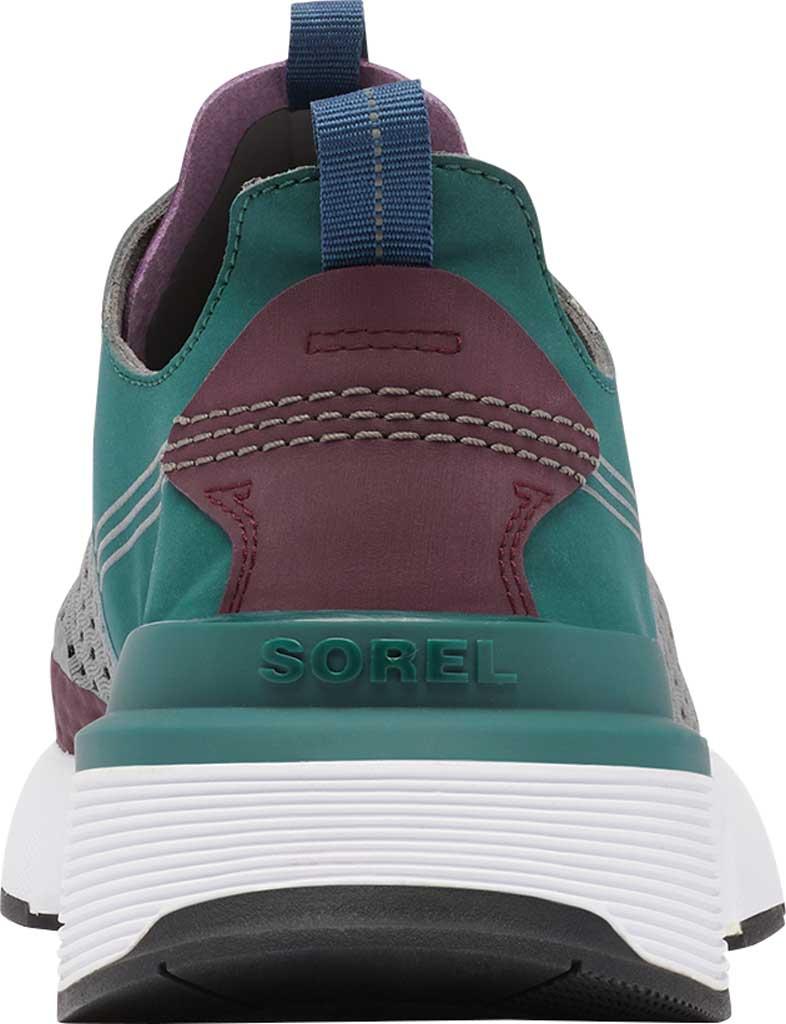 Men's Sorel Kinetic Rush Sneaker, Epic Plum/Quarry Synthetic Nubuck/Mesh, large, image 4