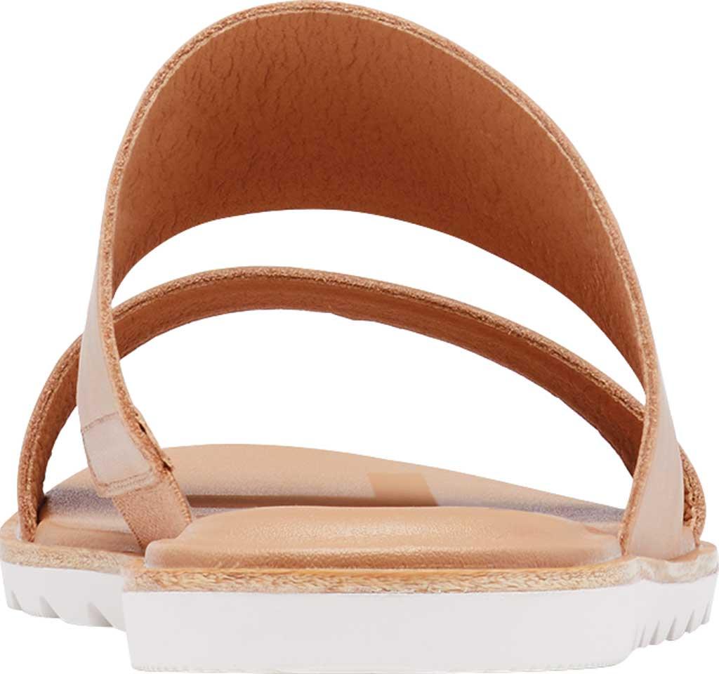 Women's Sorel Ella II Flat Slide, Honest Beige Full Grain Leather, large, image 4