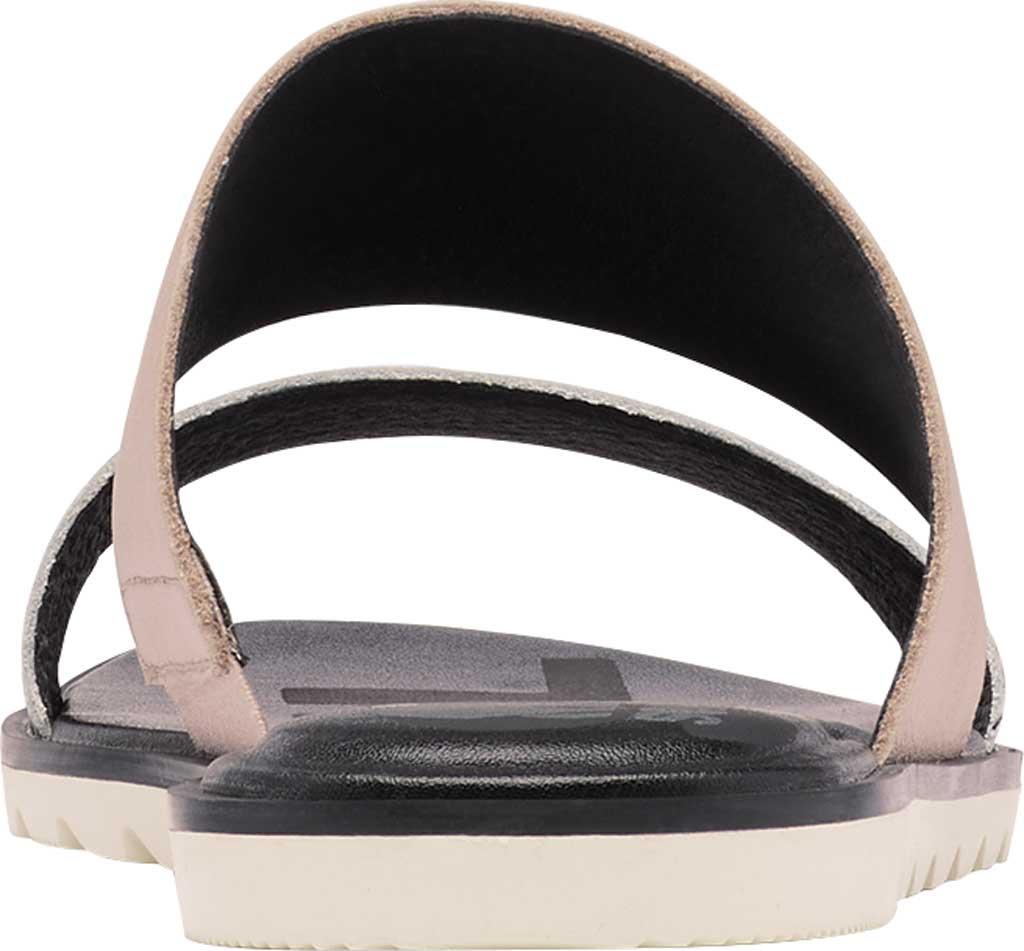 Women's Sorel Ella II Flat Slide, Mauve Vapor Full Grain Leather, large, image 4