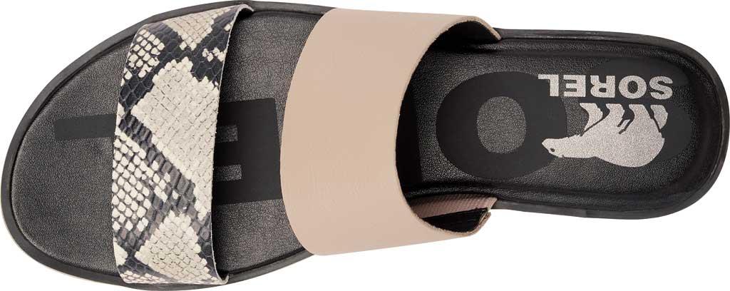 Women's Sorel Ella II Flat Slide, Mauve Vapor Full Grain Leather, large, image 5