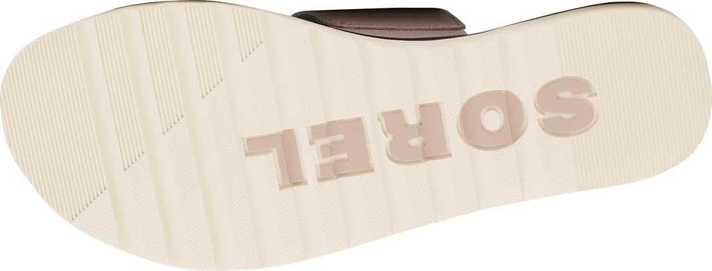 Women's Sorel Ella II Flat Slide, Mauve Vapor Full Grain Leather, large, image 6
