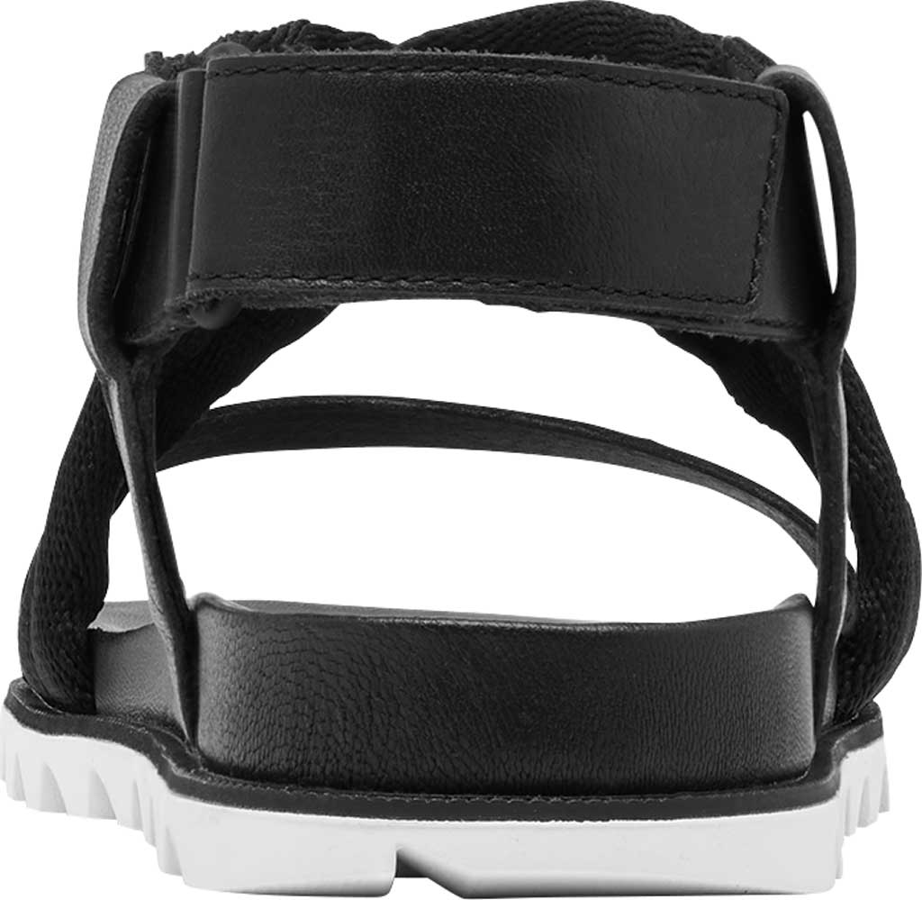 Women's Sorel Roaming Decon Slingback Sandal, Black Full Grain Leather/Textile, large, image 4