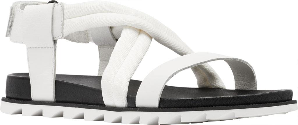Women's Sorel Roaming Decon Slingback Sandal, Sea Salt Full Grain Leather/Textile, large, image 1