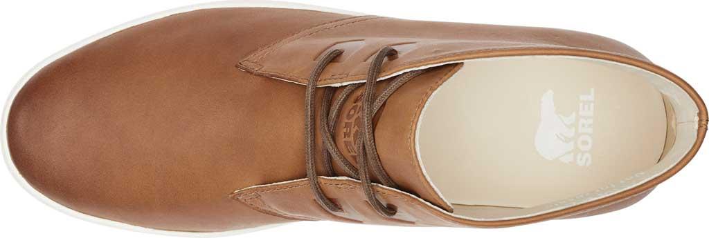 Men's Sorel Caribou Mod Waterproof Chukka, Brown Flora/Sea Salt Waterproof Full Grain Leather, large, image 5