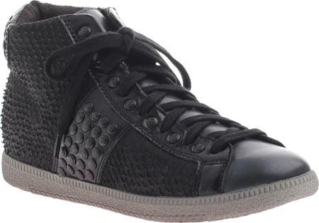 Women's OTBT Samsula 2, Black Leather, large, image 1