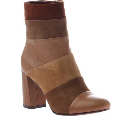 Women's Poetic Licence Patchwork Places Ankle Boot, New Tan Leather, large, image 1