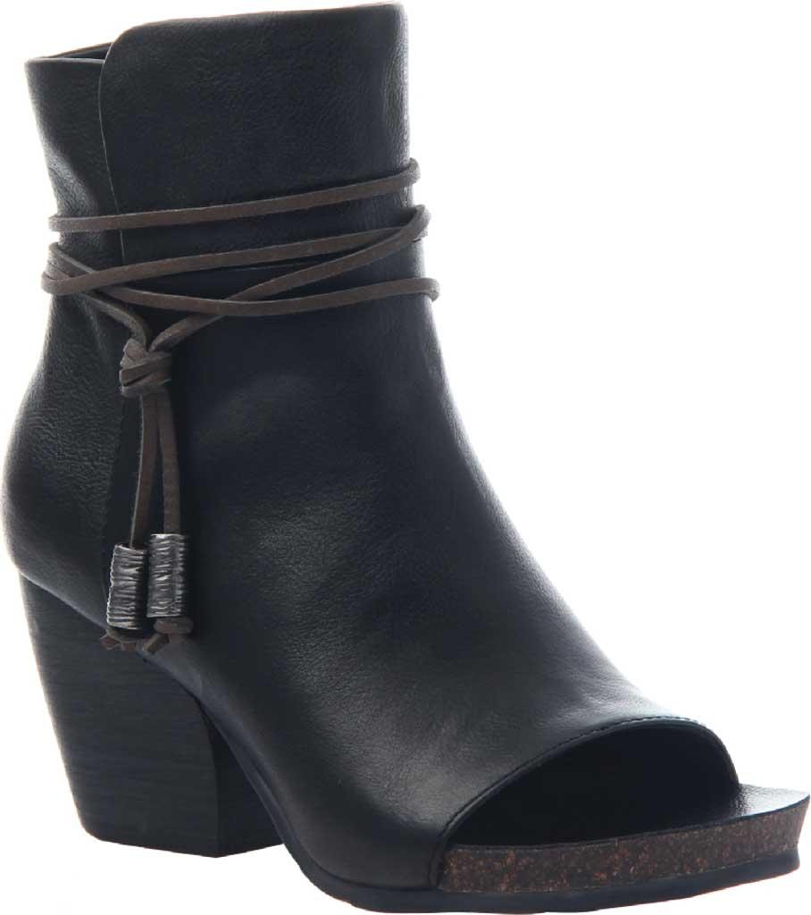 Women's OTBT Vagabond Bootie, Black Leather, large, image 1