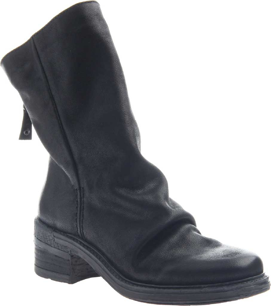 Women's OTBT Fernweh Ankle Boot, Black Leather, large, image 1