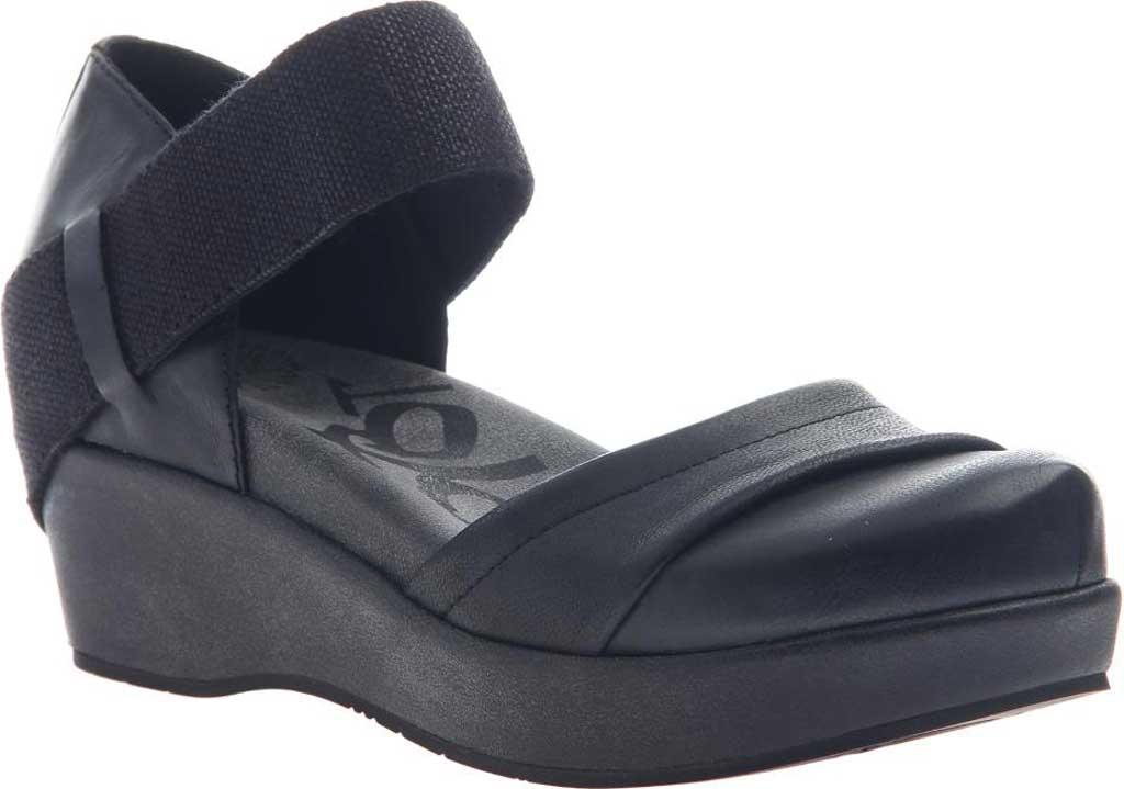 Women's OTBT Wander Out Closed Toe Sandal, Black Leather, large, image 1