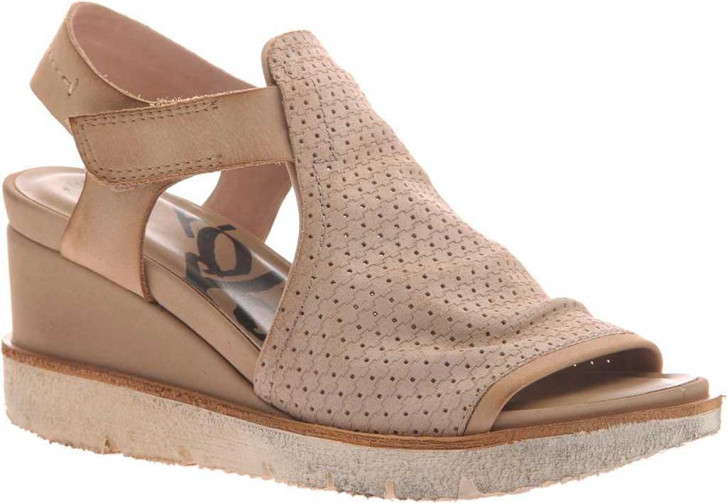 Women's OTBT Mercury Heeled Sandal, Salmon Leather, large, image 1