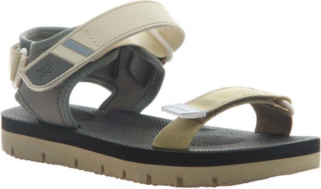 Women's OTBT High Tide Sports Sandal, Beige Leather/Textile, large, image 1