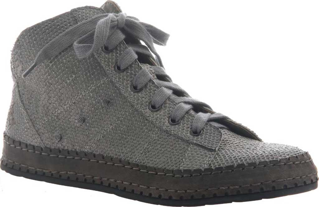 Women's OTBT Round Trip High Top, Grey Pewter Leather, large, image 1