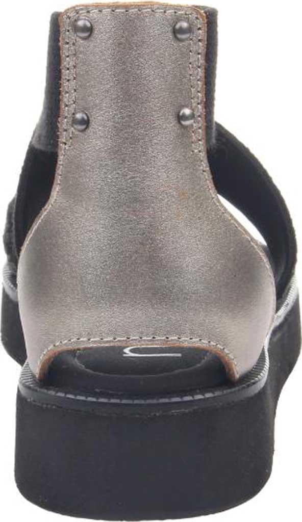 Women's Nicole Karla Strappy Sandal, Black Synthetic/Leather/Textile, large, image 4
