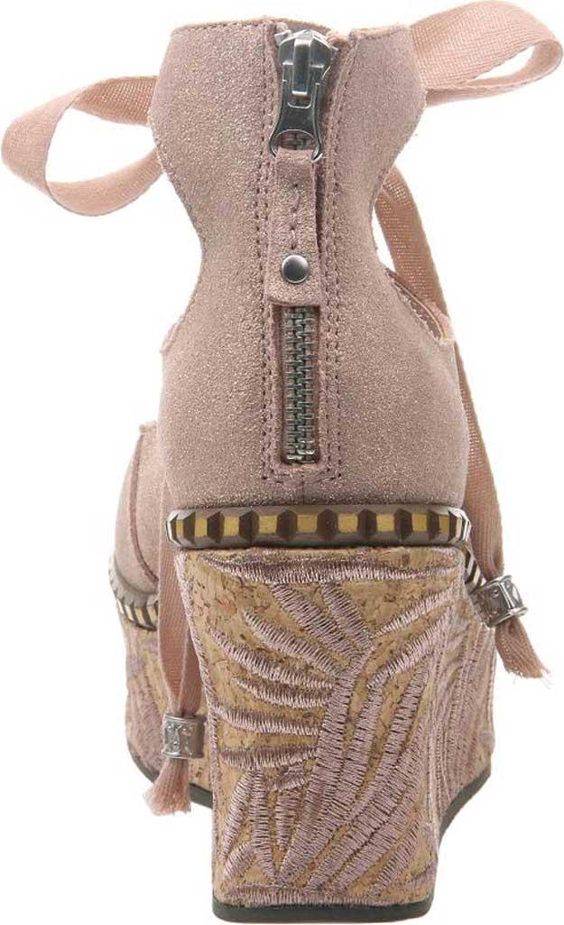 Women's OTBT Kentucky Gladiator Sandal, Copper Metallic Suede, large, image 4