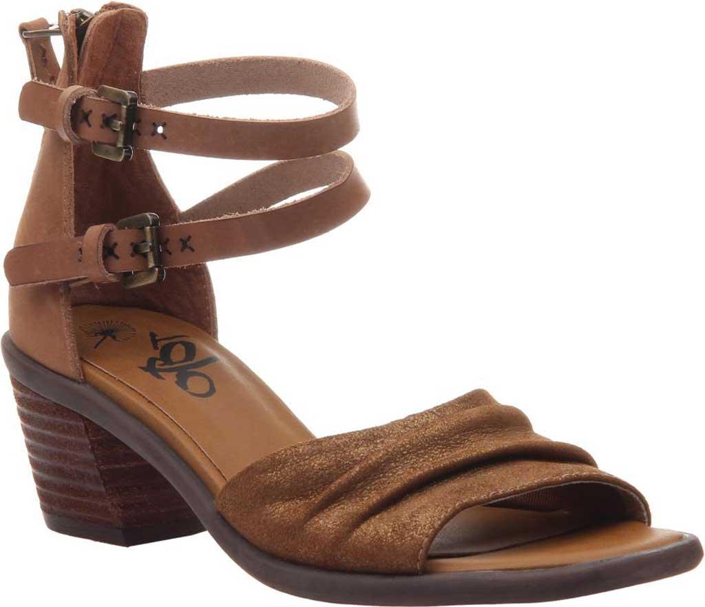 Women's OTBT Boarder Ankle Strap Sandal, Sterling Leather, large, image 1