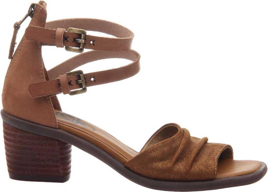 Women's OTBT Boarder Ankle Strap Sandal, Sterling Leather, large, image 2