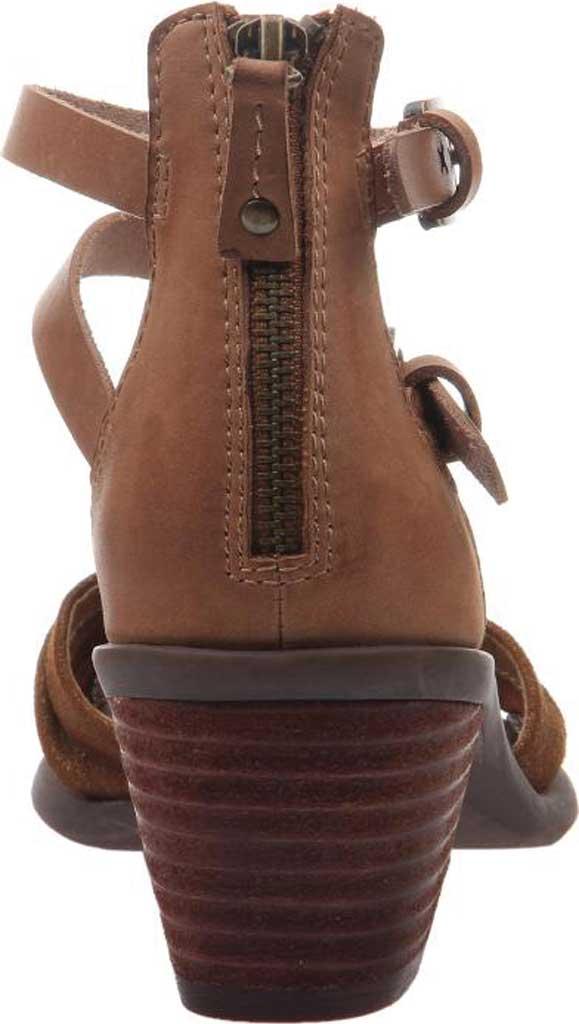 Women's OTBT Boarder Ankle Strap Sandal, Sterling Leather, large, image 4