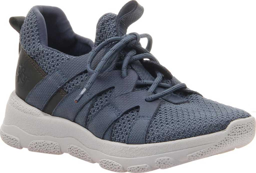 Women's OTBT Unison Sneaker, Electric Blue Synthetic Leather/Fabric, large, image 1
