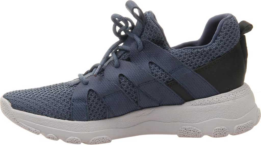 Women's OTBT Unison Sneaker, Electric Blue Synthetic Leather/Fabric, large, image 3
