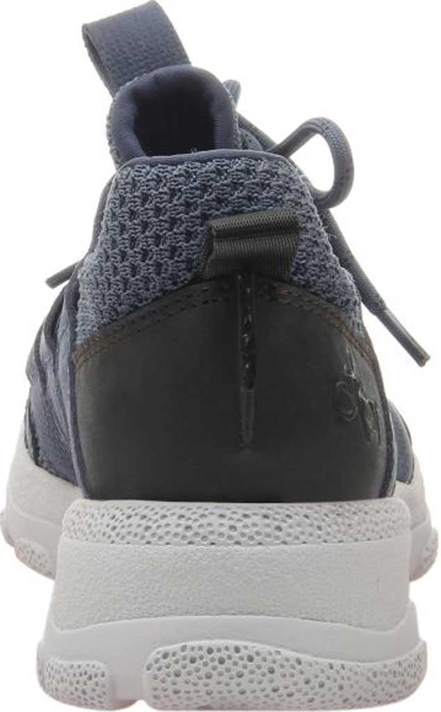 Women's OTBT Unison Sneaker, Electric Blue Synthetic Leather/Fabric, large, image 4