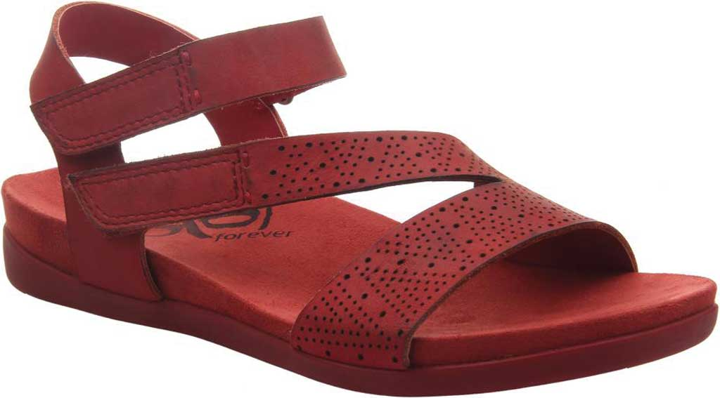 Women's OTBT Theodora Slingback Sandal, Candy Apple Red Leather, large, image 1