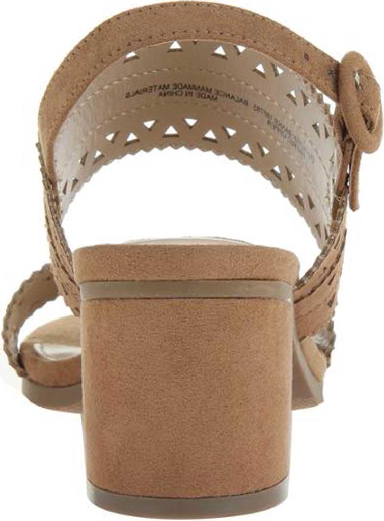 Women's Madeline Outer Banks Slingback Sandal, Tan Textile, large, image 3
