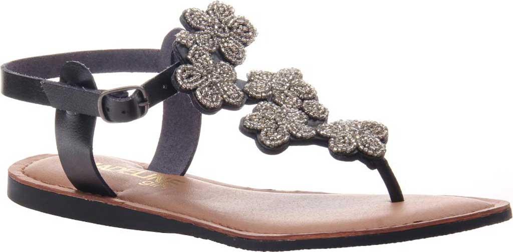 Women's Madeline Lust Thong Sandal, Black Synthetic, large, image 1
