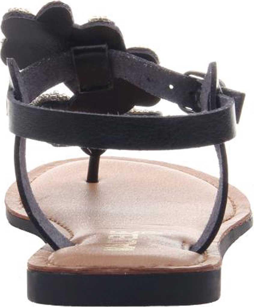 Women's Madeline Lust Thong Sandal, Black Synthetic, large, image 4