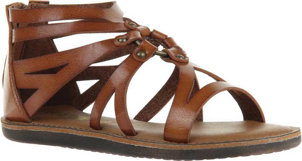 Women's Madeline Woke Flat Sandal, Brown Sugar Synthetic, large, image 1