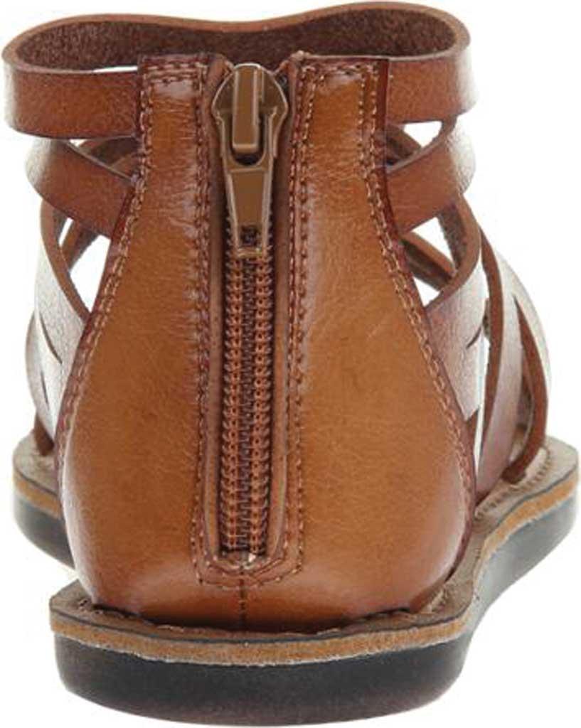 Women's Madeline Woke Flat Sandal, Brown Sugar Synthetic, large, image 4