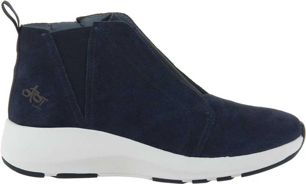 Women's OTBT Bethel High Top Sneaker, Dark Navy Leather, large, image 2