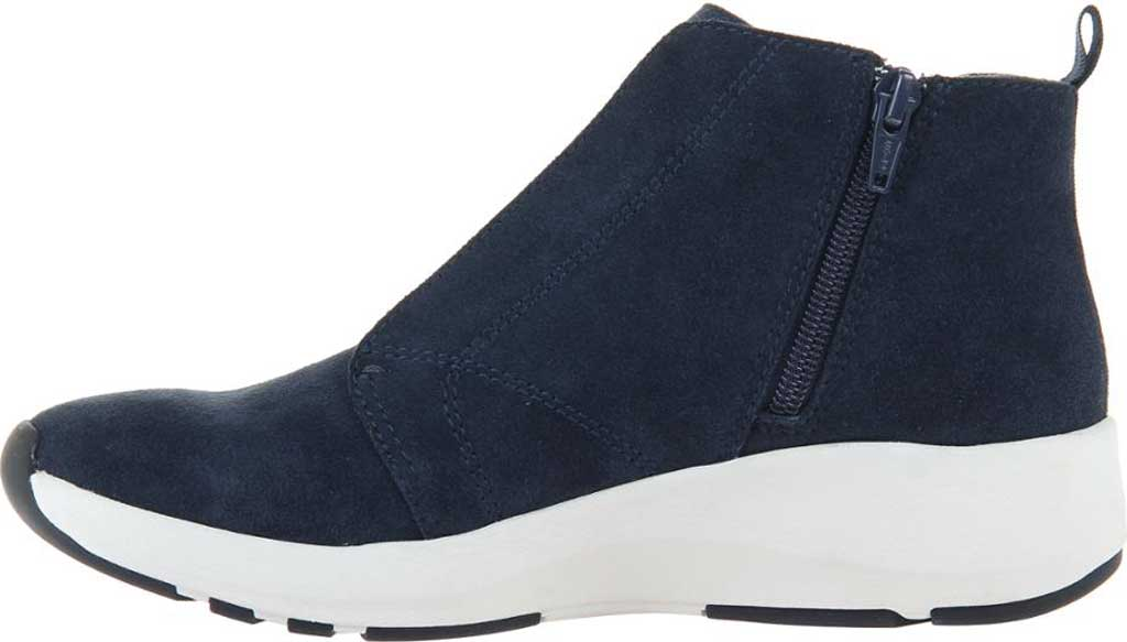 Women's OTBT Bethel High Top Sneaker, Dark Navy Leather, large, image 3