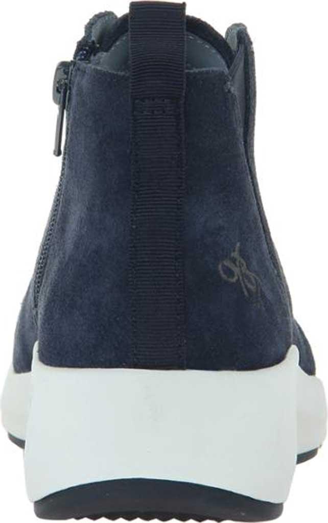 Women's OTBT Bethel High Top Sneaker, Dark Navy Leather, large, image 4