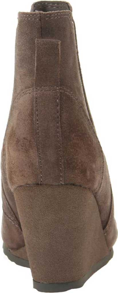 Women's OTBT Dodge Wedge Bootie, Grey Leather, large, image 4